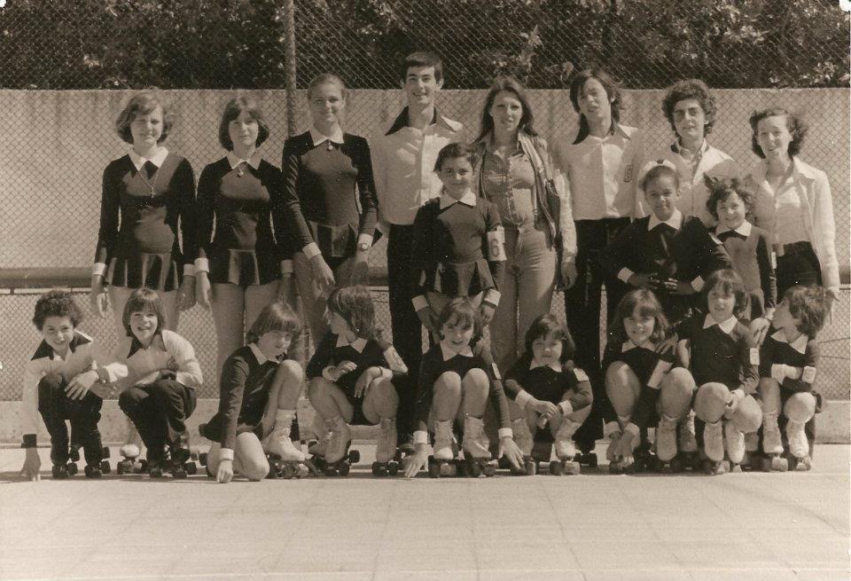 Primeiro Grupo de Patinagem Artística 1976